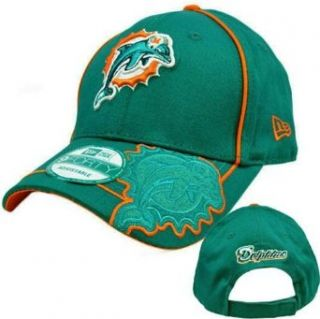 NFL Miami Dolphins Hurry Up O 940 Cap, Green, One Size Fits All  Sports Fan Baseball Caps  Clothing