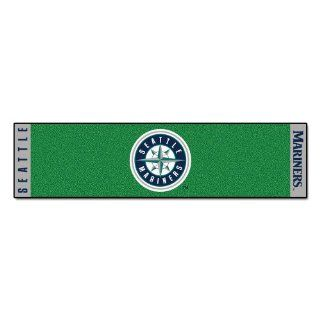 FANMATS MLB Seattle Mariners Nylon Face Putting Green Mat Automotive