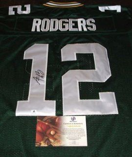 Aaron Rodgers Signed Green Bay Packers Authentic Jersey