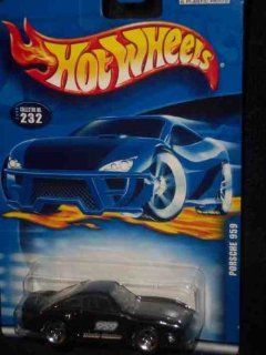 #2000 232 Porsche 959 Collectible Collector Car Mattel Hot Wheels Toys & Games