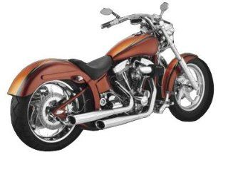 BUB 7 2 Into 2 Exhaust, Harley davidson Fxst 86 09 with Adjustable Position Muffler Automotive