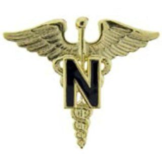 "U.S. Army Nurse Pin 1"" Sports & Outdoors"