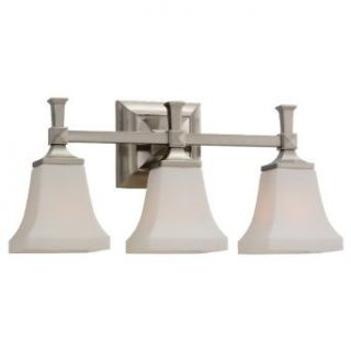 Sea Gull 44707 962 Melody 3 Light Brushed Nickel Wall Bar   Vanity Lighting Fixtures