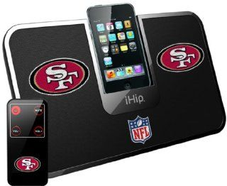 iHip Official NFL   SAN FRANCISCO 49ER's   Portable iDock Stereo Speaker with Wireless Remote NFV5000SAF  Players & Accessories