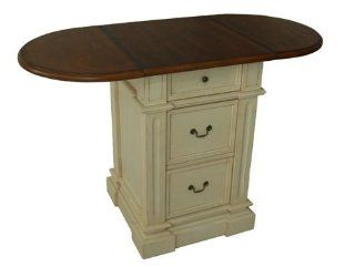 Avondale Counter Height Table w Oval Drop Leaf Top   Pub Leaf Table