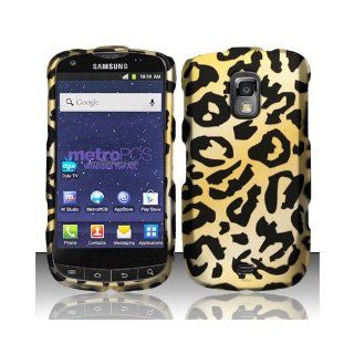 Yellow Cheetah Hard Cover Case for Samsung Galaxy S Lightray 4G SCH R940 Cell Phones & Accessories