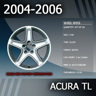 "2004 2006 Acura TL Factory 17"" Rims Wheels Set of 4 Automotive"
