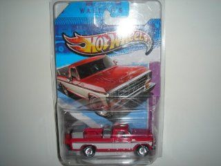 Hot Wheels  Exclusive Super Treasure Hunt 1979 Ford F 150 Truck Red White