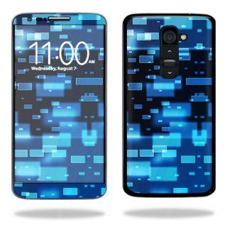 MightySkins Protective Vinyl Skin Decal Cover for LG G2 T Mobile Sticker Skins Space Blocks Cell Phones & Accessories