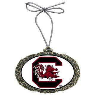 South Carolina Gamecocks NCAA Nickel Classic Logo Holiday Ornament  Decorative Hanging Ornaments  Sports & Outdoors