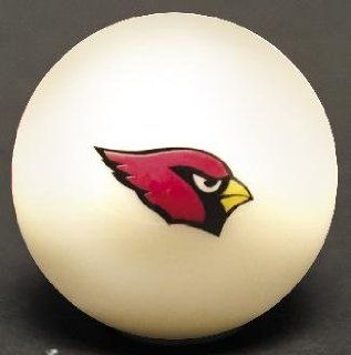 Arizona Cardinals Official Licensed NFL Billiard Pool Table Cue Ball  Sports & Outdoors