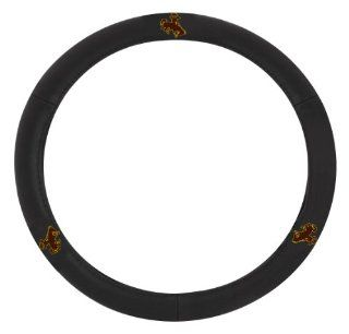 Pilot Automotive SWC 982 Wyoming Collegiate Leather Steering Wheel Cover Automotive