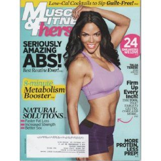 Muscle & Fitness Hers 2013 July/August (On the cover Talia) M&F Editors Books