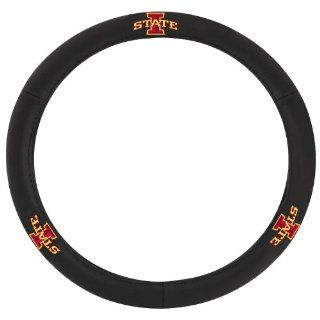 "Pilot Automotive SWC 958N Iowa State New Logo ""I"" Collegiate Leather Steering Wheel Cover Automotive"