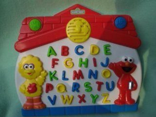 Sesame Street Elmo & Big Bird, Lets Find Abc Learning Toy Toys & Games
