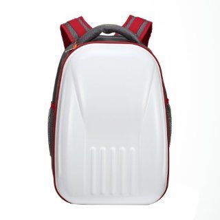 PartyPrince Iron Man Design Hard Shell Laptop Backpack, White Computers & Accessories