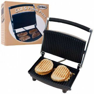 Chef Buddy Grill and Panini Press   Non Stick Kitchen & Dining