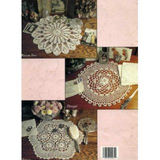 Elegant Crocheted Doilies/Leisure Arts #972 (8 Differnet Patterns;Star Shine, Tempist, Royal Flash, Rondelay, Midnight Sun, Blossum Time, Nina, Donegal) C Strohmeyer Books
