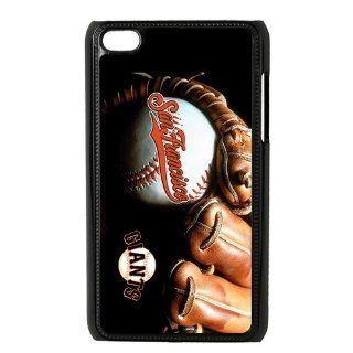 Custom San Francisco Giants Cover Case for iPod Touch 4 4th IP 10020 Cell Phones & Accessories