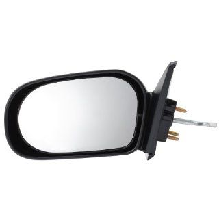 Pilot 95 96 Toyota Tercel Murakami Brand Manual Remote Mirror Left Black Textured TY529410CL Automotive