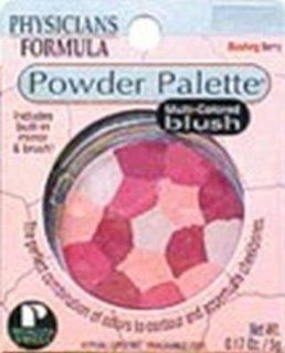 Physicians Formula Powder Palette Blush, Blushing Berry, 0.17 Ounce  Face Blushes  Beauty