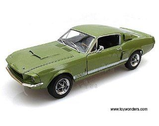 Amm993 Auto World Ertl   Shelby Gt500 Hard Top (1967, 118, Green) Amm993 Diecast Car Model Auto Vehicle Automobile Metal Iron Toy Toys & Games