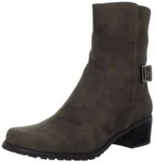 AK Anne Klein Women's Emiliana SY Bootie,Dark Taupe,5 M US Shoes