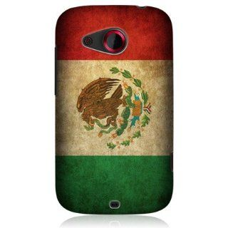 Head Case Designs Mexico Mexican Vintage Flag Protective Back Case for HTC Desire C Cell Phones & Accessories