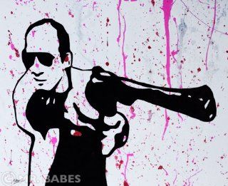 "Mr. Babes ""Hunter S. Thompson"" Original Acrylic On Canvas Pop Art Painting  Other Products"