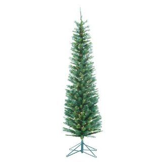 Kurt Adler 6 Feet Pre Lit Manchester Pine Pencil Tree   Christmas Trees