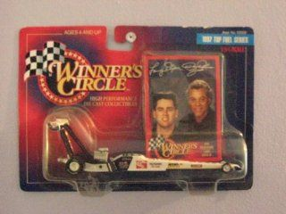 Winners Circle 1/64 Scale diecast with collectible card Don Prudhomme/ Larry Dixon Jr. 1997 Top Fuel Series The Snake Toys & Games
