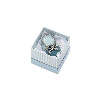 Blue Baby Booty Keepsake Trinket Box with Crystals  Baby