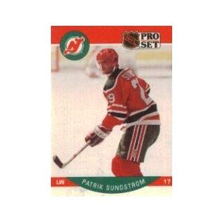 1990 91 Pro Set #176A Patrik Sundstrom ERR/(Front photo actually/Peter Stastny) Sports Collectibles