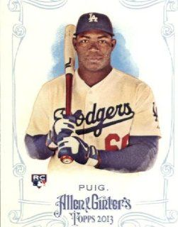 2013 Topps Allen and Ginter Trading Card # 44 Yasiel Puig RC Los Angeles Dodgers Sports Collectibles