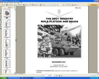 U.S. Army FM 3 21.9 Stryker Brigade Combat Team (SBCT) Infantry Rifle Platoon And Suad Field Manual Guide Book on CD ROM