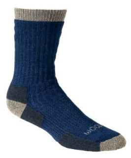 Woolrich Big Woolly Crew Socks, DARK DENIM (Blue), Size XL Clothing