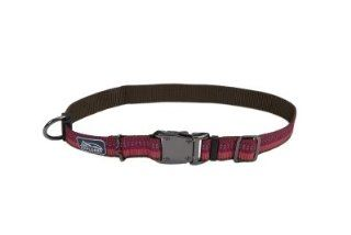 "Brand New COASTAL PET PRODUCTS, INC.   36923 26 BRY 1"""" ADJ COLLAR (BERRY PURPLE K 9 EXPLORER) ""DOG PRODUCTS   DOG COLLARS & LEADS   NYLON"""