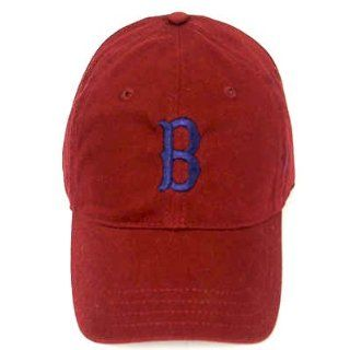 MLB BOSTON RED SOX GARMENT WASHED BERRY HAT CAP ADJ NEW  Sports Fan Baseball Caps  Sports & Outdoors