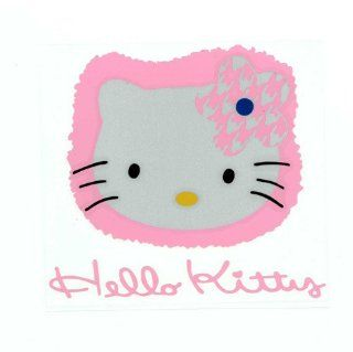 Hello Kitty Pink Cute Cute Sculpture Reflective Decorative Car Stickers for Car and Anything Sports & Outdoors