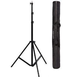 "Ravelli ALS Full 10' Air Cushioned Light Stand With Included Adaptor To Also Support 1/4"" and 3/8"" Photo Equipment and Heavy Duty Carry Bag  Photographic Light Stands  Camera & Photo"