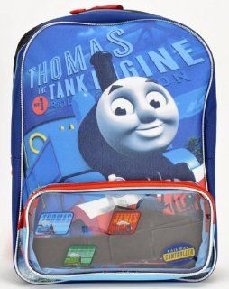 "Birthday Christmas Gift   Thomas the Train Large Backpack and Tumbler Set, Backpack Size Approximately 16"" Toys & Games"
