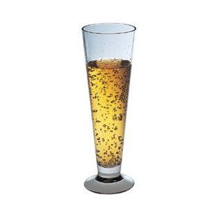 Polycarbonate Flare Pilsner Glass, Set of 4 Kitchen & Dining