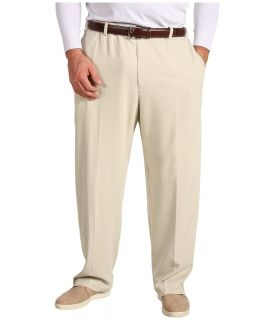 Tommy Bahama Big & Tall Big Tall Flying Fishbone Flat Front Pant Mens Clothing (Gray)