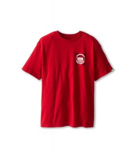 Vans Kids Indy Logo T Shirt Boys T Shirt (Red)
