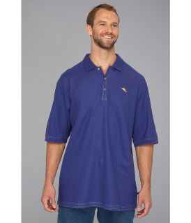 Tommy Bahama Big & Tall Big Tall Emfielder Polo Shirt Mens Short Sleeve Pullover (Blue)