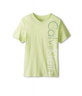 Calvin Klein Kids Iconic V Neck Tee Boys T Shirt (Multi)