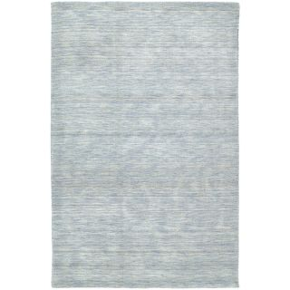 Gabbeh Hand tufted Light Blue Rug (8 X 11)