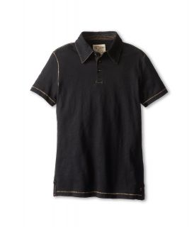 Joes Jeans Kids S/S Polo Shirt Boys Short Sleeve Pullover (Black)