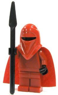 Lego Star Wars Mini Figure Emperors Royal Guard with Pike (Approximately 45mm / 1.8 Inches Tall) Toys & Games