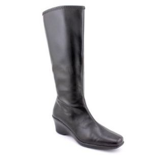 Karen Scott Venice Women's Black Fashion Knee High Boots SIze 9m Dress Boots Shoes